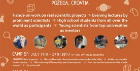 International Summer School of Science, Croatia